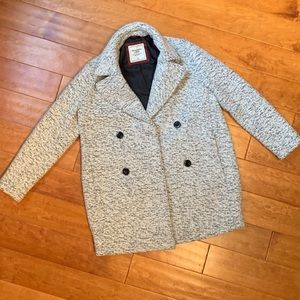 Classic Wool-blend Abercrombie Peacoat